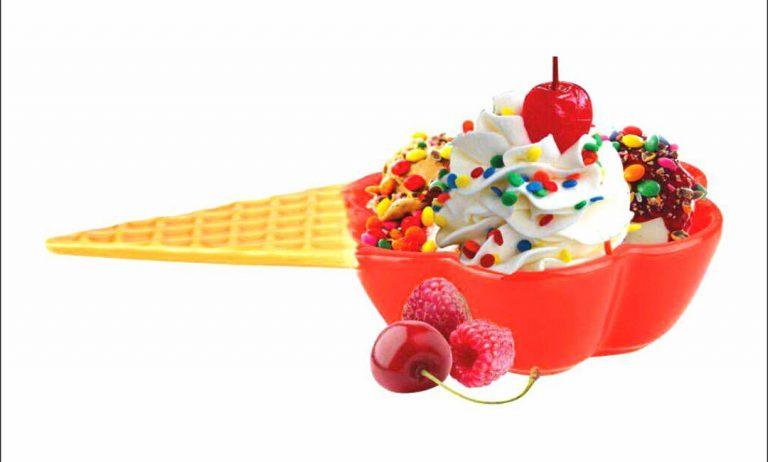 بستنی خوری رنگی باریز
