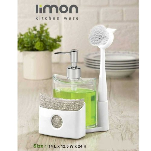 جا مایع ظرفشویی لیمون 3 کاره